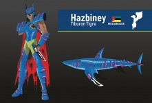 Hazbiney du Requin tigre